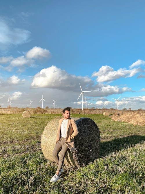 Imagine de stoc gratuită din Anglia, câmp, costum