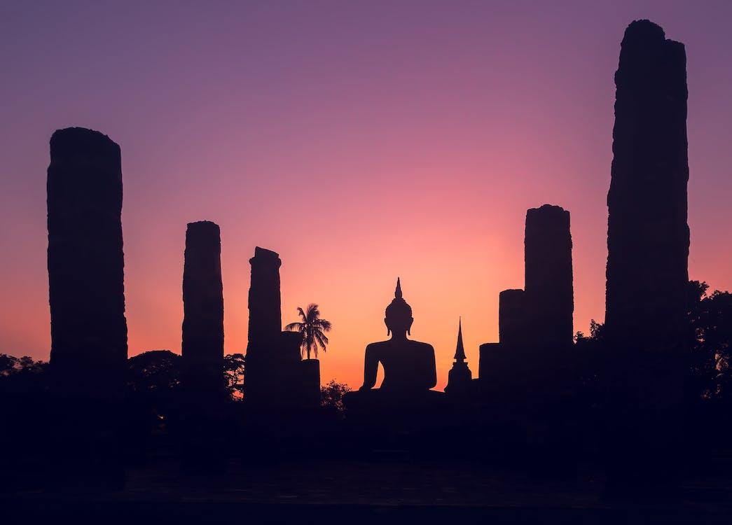 Sukhothai, Tailandia, Templo, Asia, viaje