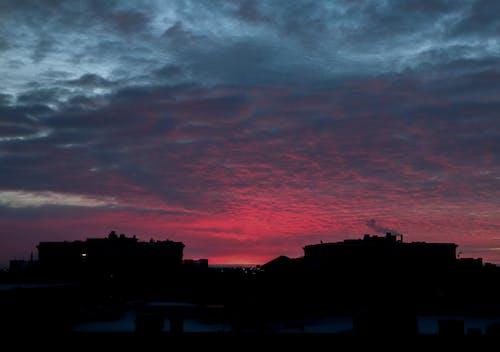 Free stock photo of beautiful sky, city skyline, clouds