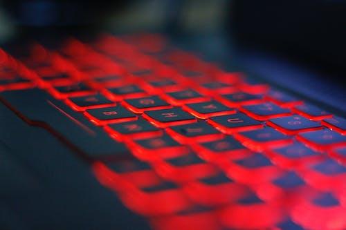 Free stock photo of computer keyboard, keys, laptop