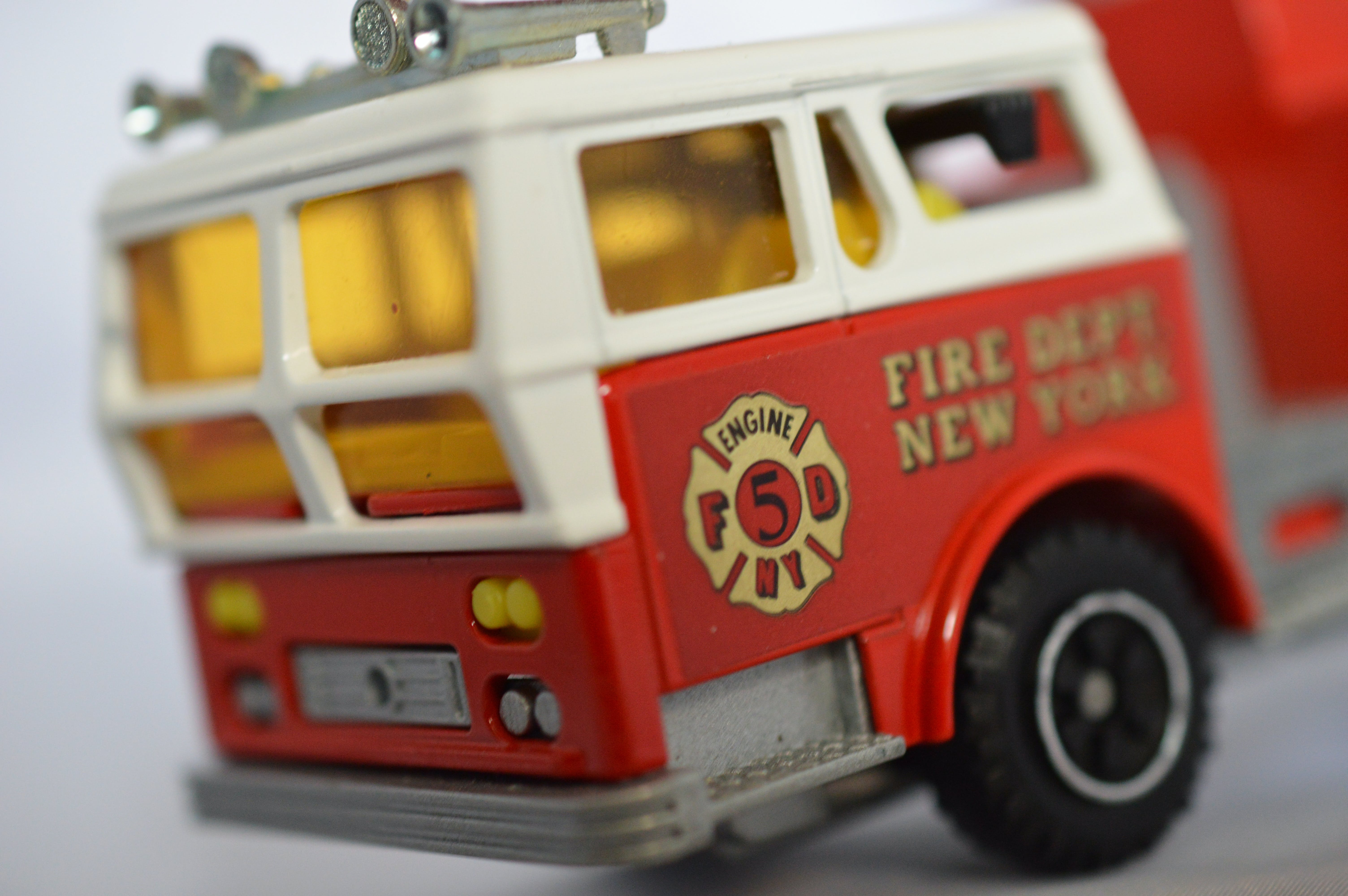 Free stock photo of fire truck, firetruck, red, toy