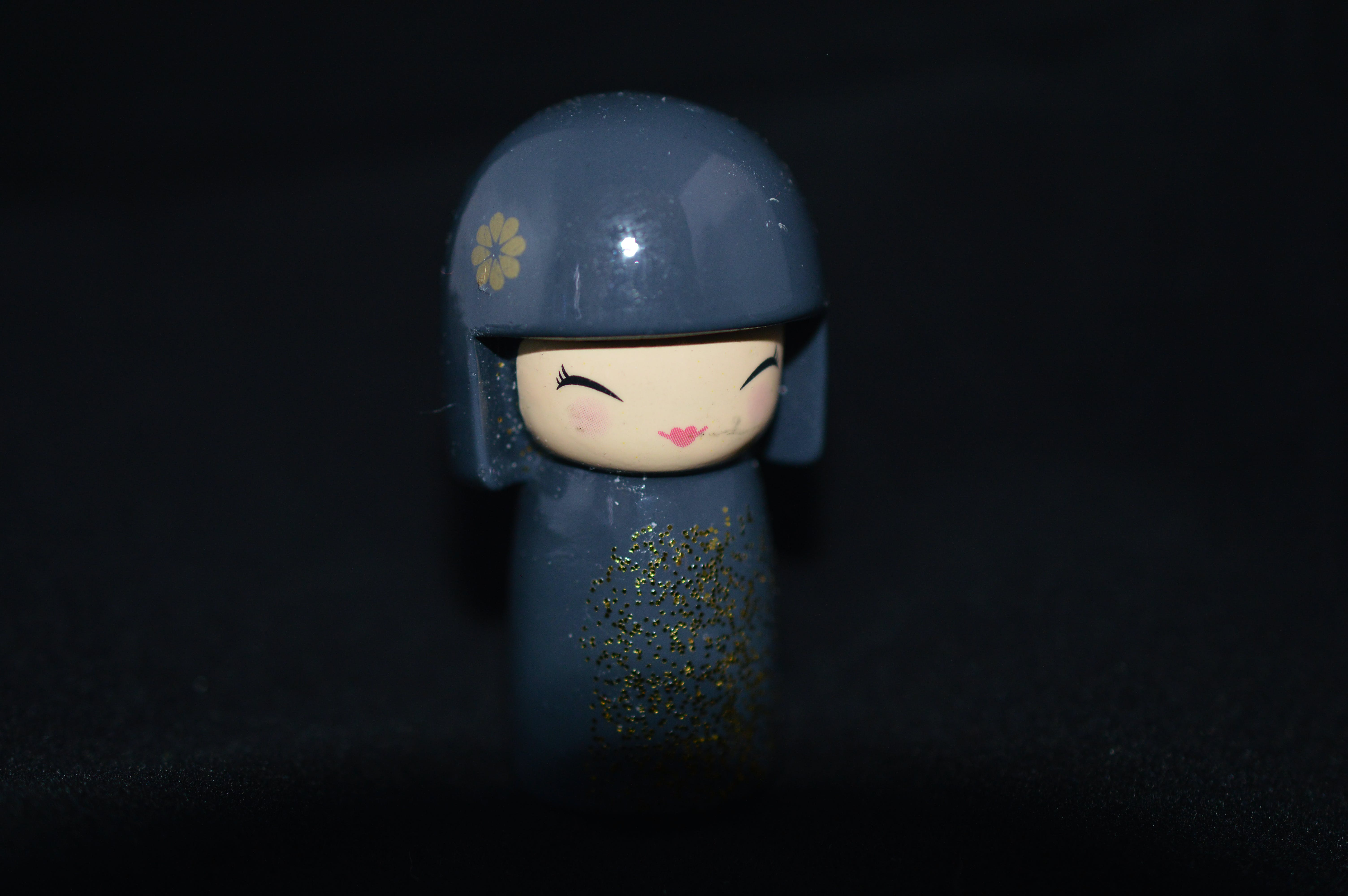 Free stock photo of black background, doll, grey, Japanese