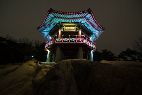 Kostnadsfri bild av achasan, goguryeo jung, monument, Sydkorea