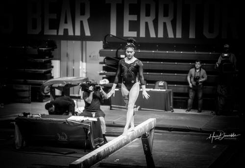 Free stock photo of balance beam, cal, competition