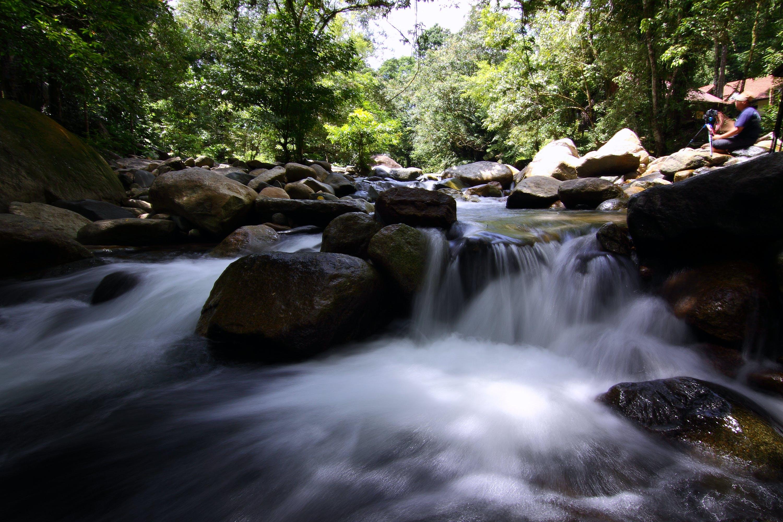 Kostenloses Stock Foto zu landschaft, natur, menschen, wasser