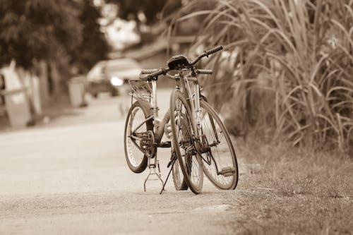 Fotobanka sbezplatnými fotkami na tému akcia, auto, bicykel, cesta