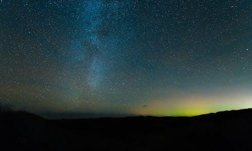 Free stock photo of bright stars, dark night, milky way