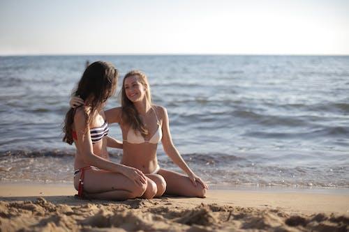 Ilmainen kuvapankkikuva tunnisteilla hiekka, hiekkaranta, ihmiset