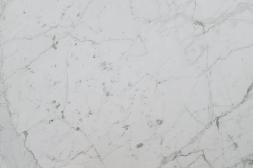 White and Black Marble Surface
