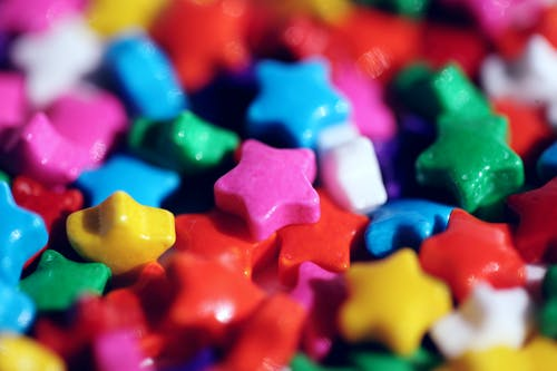 Colorful Star Candies