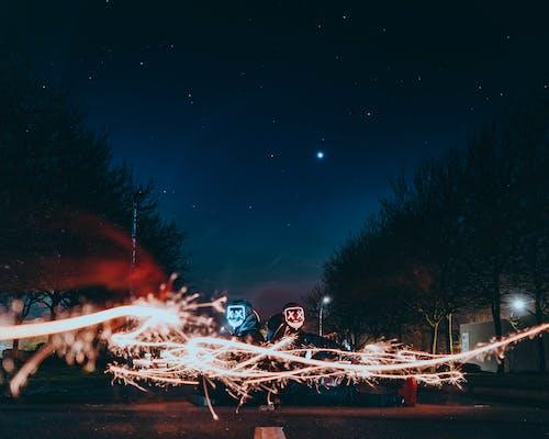 คลังภาพถ่ายฟรี ของ lightroom, photograpyhy, กลางคืน