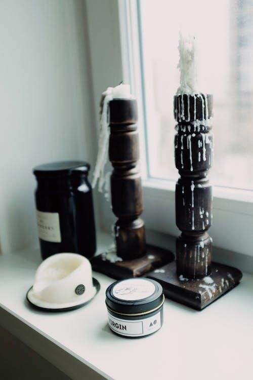 Безкоштовне стокове фото на тему «бляшанка, вікно, віск»