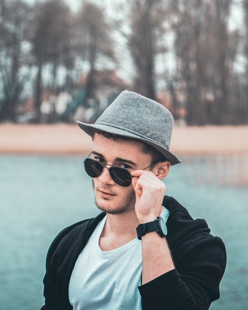 Free stock photo of eyes, hat, lake, Lake views
