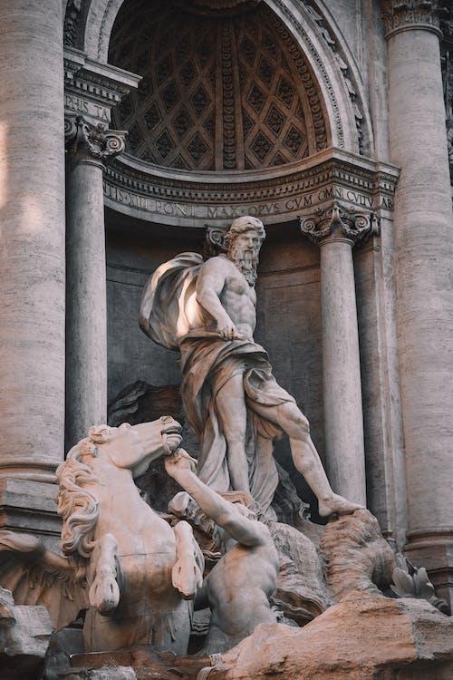 Безкоштовне стокове фото на тему «poseidon, архітектура, бароко»