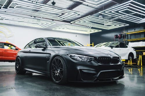 Black Bmw M 3 Coupe