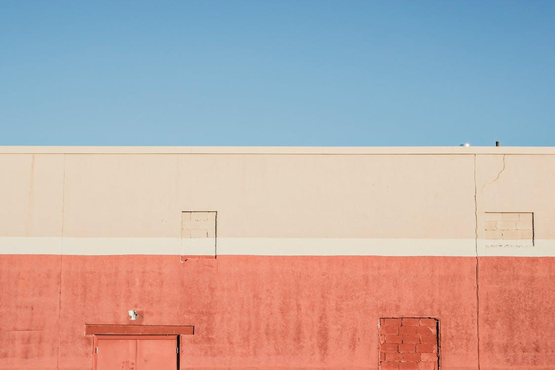 Orange Painted Wall