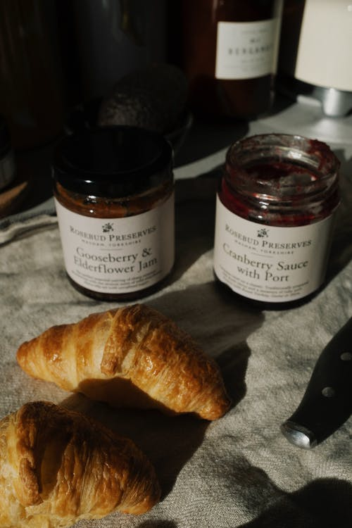 Croissants And Jams