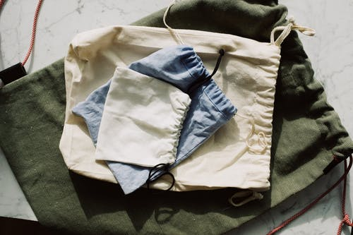 Drawstring Pouches And Bag