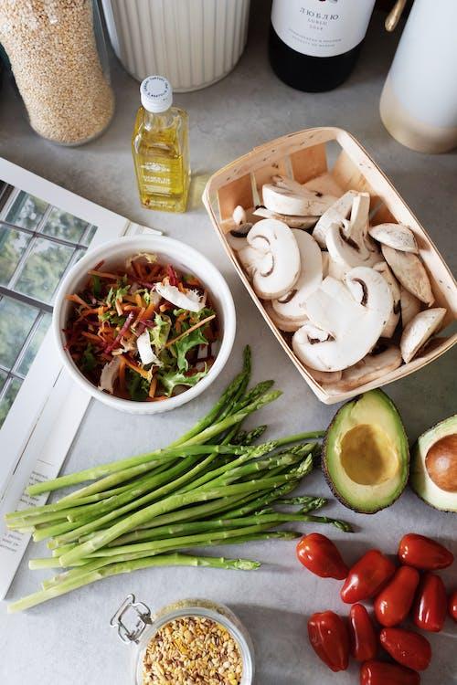 Kostnadsfri bild av grönsaker, hälsosam, ingredienser, mat