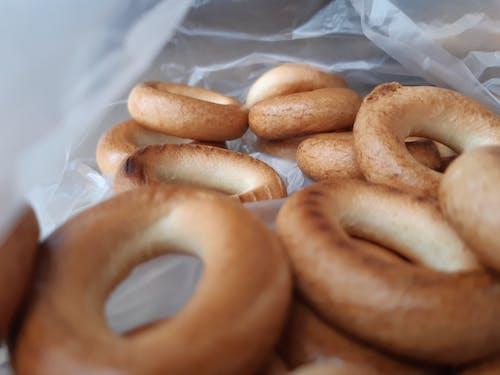 Donuts In White Plastic