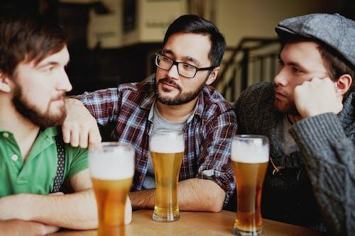 Friends Talking at a Bar