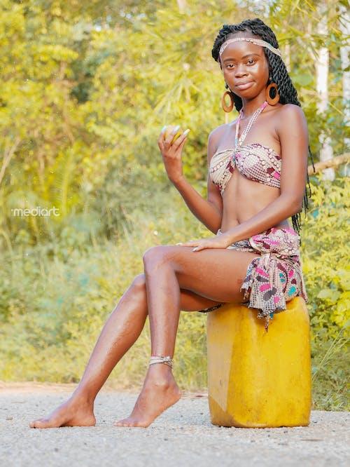 アフリカ人女性, アンゴラ, きれいな女性の無料の写真素材