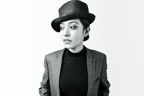 Imagine de stoc gratuită din atitudine, blazer, căutare, fedora hat