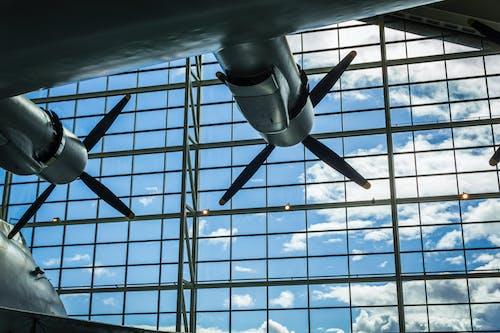 Foto stok gratis baling-baling, baling-baling pesawat terbang, Bandara, bangunan