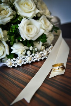 Free stock photo of flowers, marriage, wedding, ring
