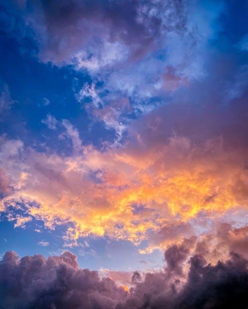 Imagine de stoc gratuită din cerul orașului, nori