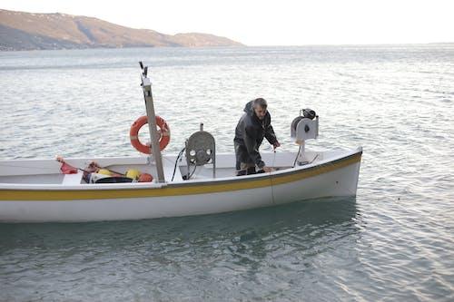 Základová fotografie zdarma na téma člun, dopravní systém, moře, oceán