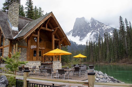 Free stock photo of adventure, banff, café