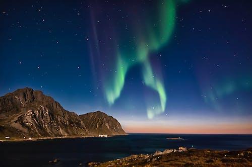 Foto profissional grátis de água, arquipélago de lofoten, ártico, atividade solar