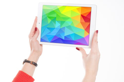 คลังภาพถ่ายฟรี ของ iPad, มีสีสัน, มือ, ยา