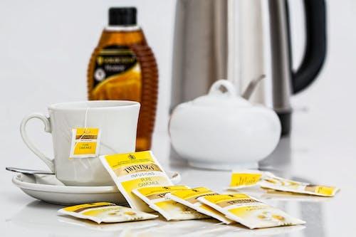 Immagine gratuita di bevanda, bevanda calda, bustine di tè, camomilla