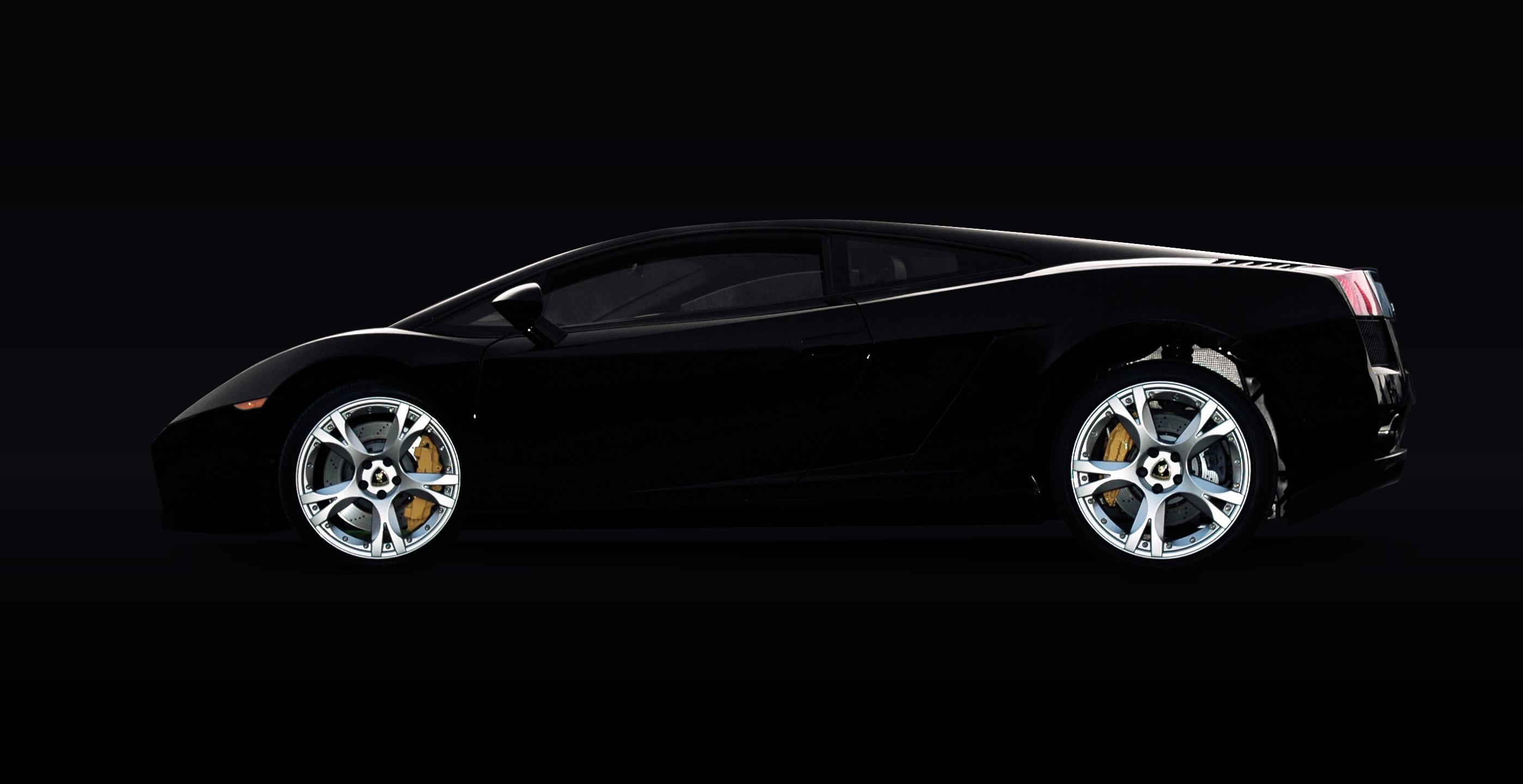 Black Lamborghini Murcielago