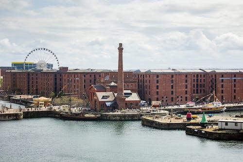 Gratis arkivbilde med Albert Dock, liverpool, pumphouse, sjøside