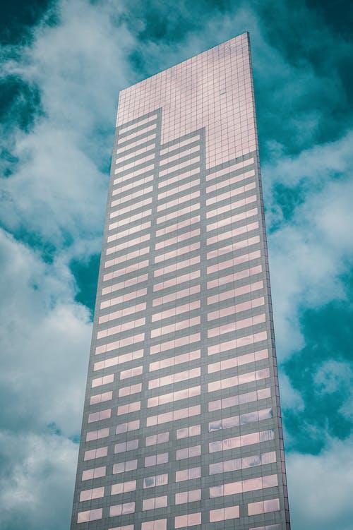 Building Under Blue Sky