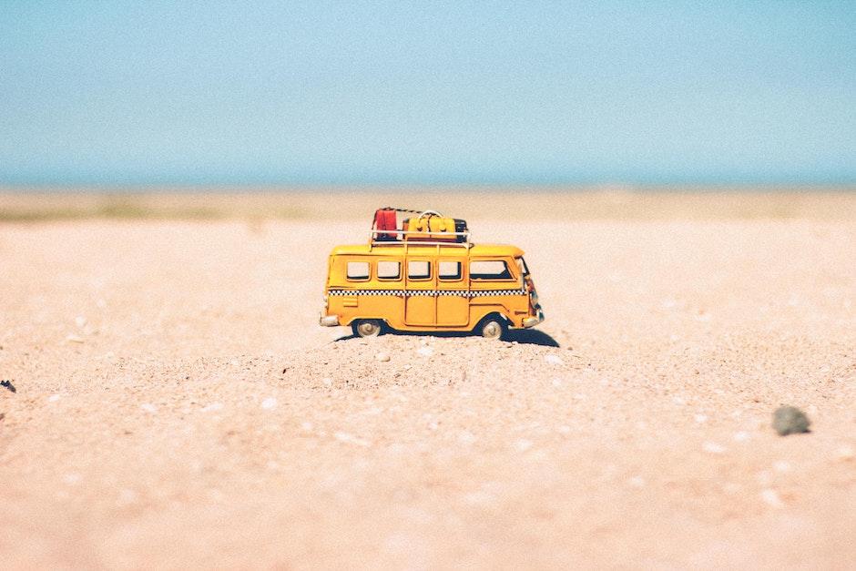 beach, blur, car