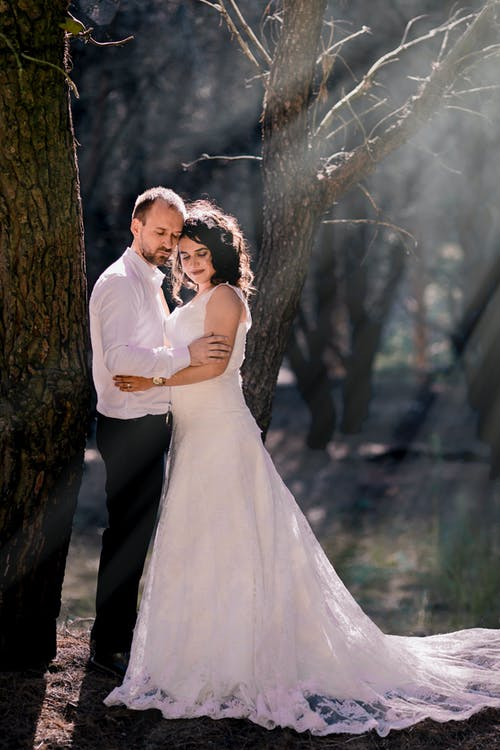 Kostenloses Stock Foto zu bhfyp, bodas, braut, bräutigam