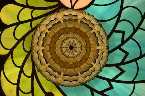 創作的, 圖案, 彩色玻璃, 插圖 的 免费素材照片