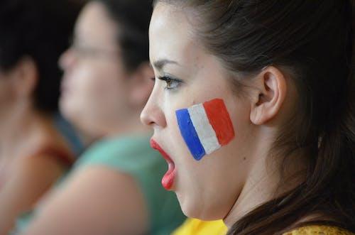 Ingyenes stockfotó arcfestés, emberek, éneklés, fókusz témában