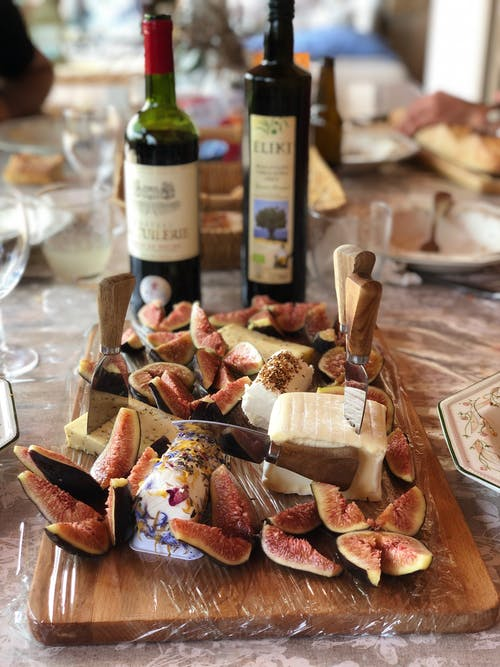Cheeses And Fig