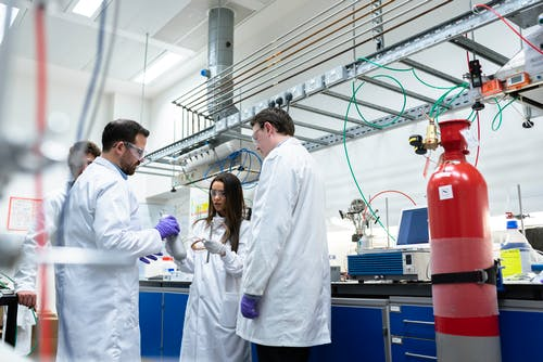 Chemical Engineers in Laboratory