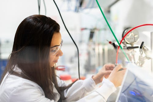 Female Engineer in Laboratory