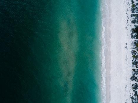 Kostenloses Stock Foto zu meer, strand, sand, wasser