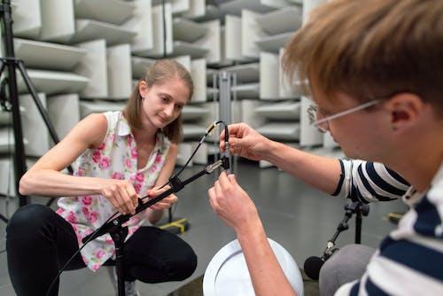 Engineers in Sound Studio
