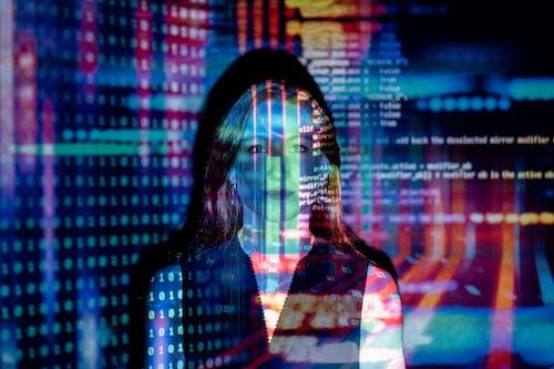 VR, 互聯網, 代碼, 女人 的 免費圖庫相片