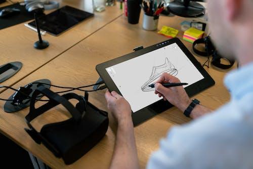 3D, vr googles, VRヘッドセット, エンジニアの無料の写真素材