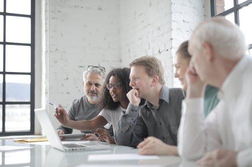 คลังภาพถ่ายฟรี ของ กลุ่ม, การทำงานเป็นทีม, การประชุม